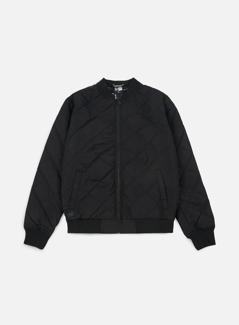 giacche new era originators quilted bomber jacket black