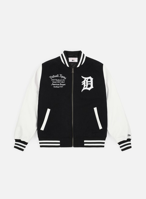 Bomber New Era Post Grad Pack Varsity Jacket Detroit Tigers