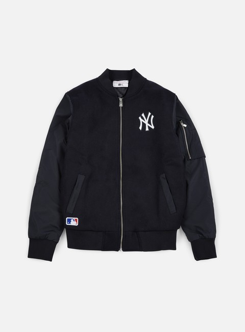 giacche new era remix ii bomber jacket ny yankees navy