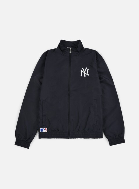 giacche new era remix ii woven track jacket ny yankees navy