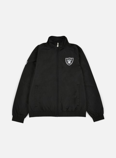 giacche new era remix ii woven track jacket oakland raiders black