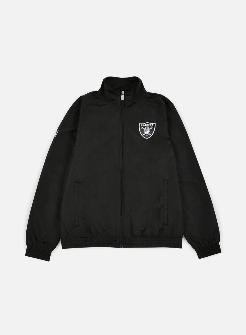 New Era - Remix II Woven Track Jacket Oakland Raiders, Black