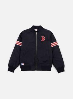 New Era - Team Apparel Bomber Jacket Boston Red Socks, Navy 1