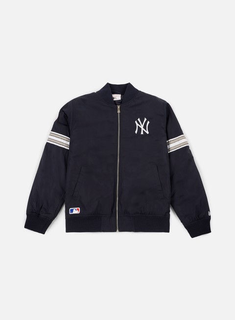 giacche new era team apparel bomber jacket ny yankees navy