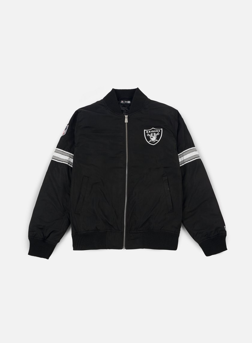 New Era - Team Apparel Bomber Jacket Oakland Raiders, Black