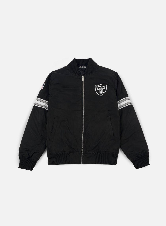 New Era Team Apparel Bomber Jacket Oakland Raiders