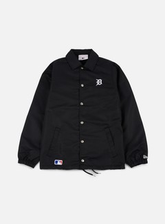 New Era - Team Apparel Coaches Jacket Detroit Tigers, Black 1