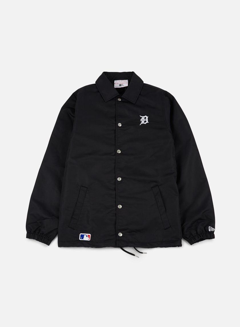 New Era - Team Apparel Coaches Jacket Detroit Tigers, Black