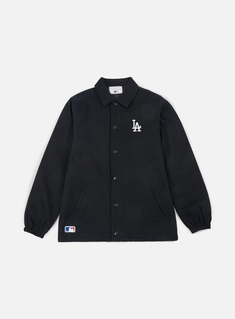 Light Jackets New Era Team Apparel Coaches Jacket Los Angeles Dodgers