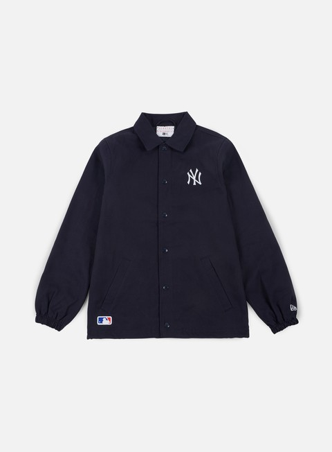 giacche new era team apparel coaches jacket new york yankees navy