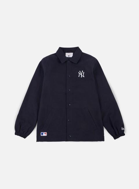 Light Jackets New Era Team Apparel Coaches Jacket New York Yankees