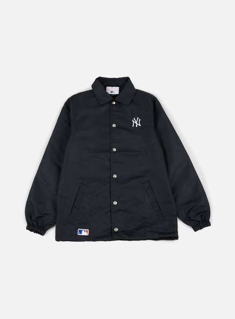 giacche new era team apparel coaches jacket ny yankees navy