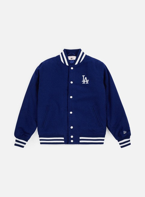 Bomber New Era Team Apparel Varsity Jacket Los Angeles Dodgers