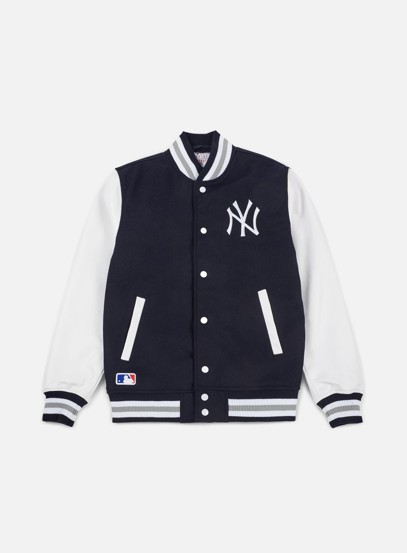 New Era Team Apparel Varsity Jacket NY Yankees