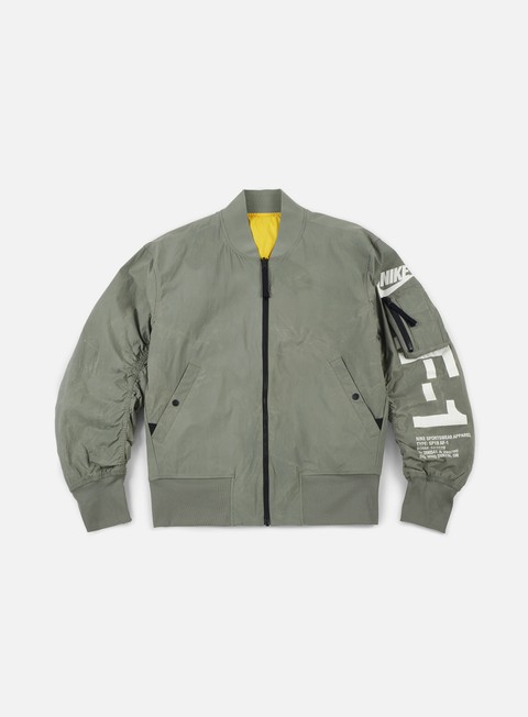 giacche nike af1 reversible woven jacket dark stucco dark stucco