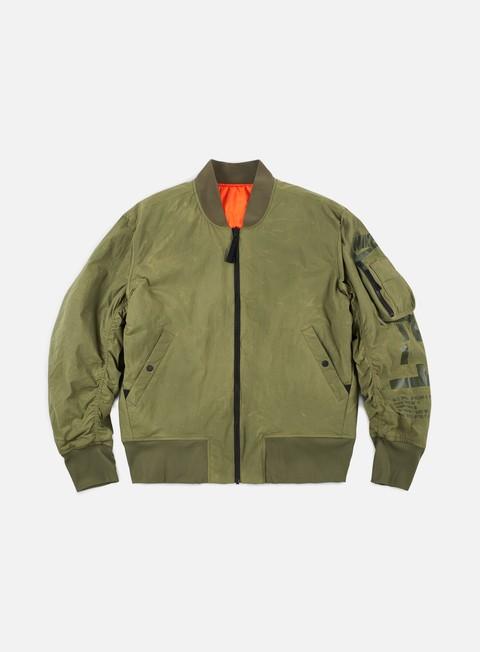 Sale Outlet Bomber Jackets Nike AF1 Reversible Woven Jacket