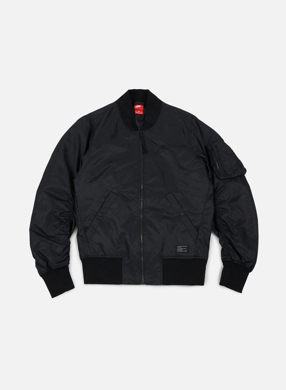 Nike - AF1 Woven Jacket, Black/Black