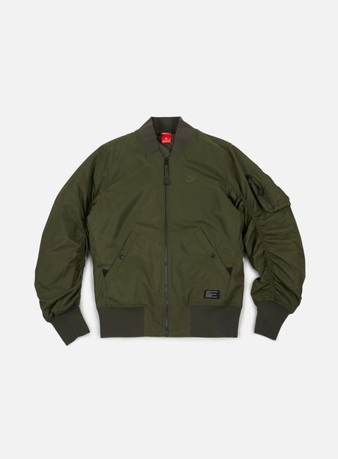 giacche nike af1 woven jacket cargo khaki cargo khaki