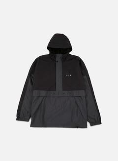 Nike - Air Half Zip Hooded Jacket, Black/Anthracite