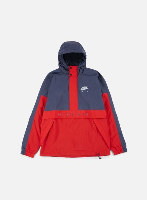 Windbreaker Nike Air Half Zip Hooded Jacket