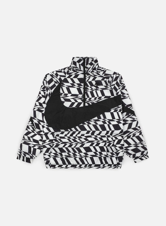 Nike AOP Swoosh Half Zip Jacket