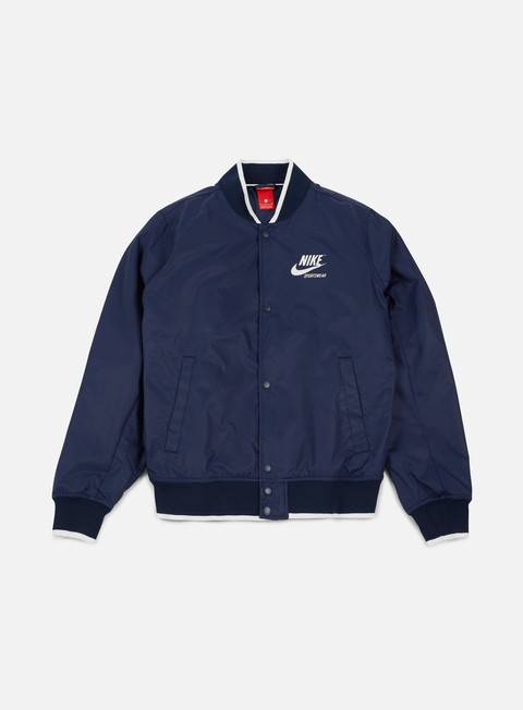 giacche nike archive padded jacket obsidian sail