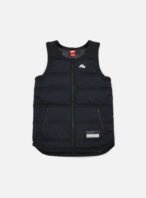 giacche nike nike air vest black