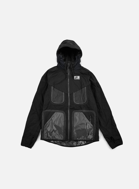 giacche nike nike international windrunner black