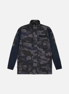 Nike - NSW Camo Jacket, Dark Obsidian/Dark Obsidian