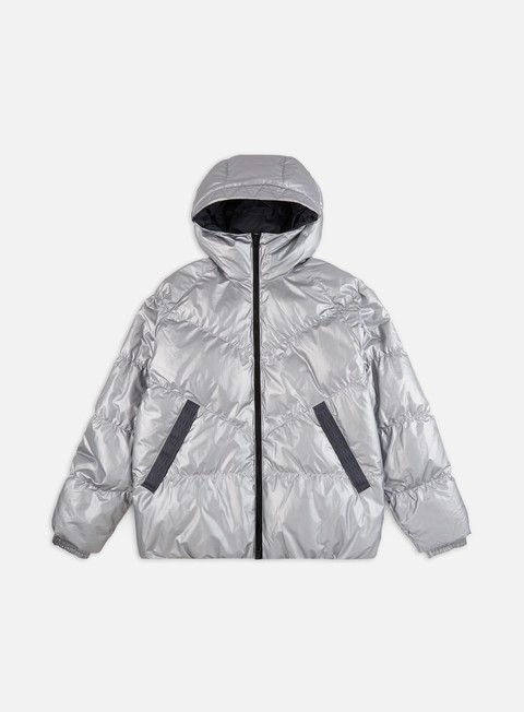 Nike Nsw Down Fill Windrunner Jacket in Gold (Metallic) for