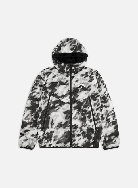 Giacche Invernali Nike NSW Down-Fill Windrunner Aop Shield Jacket