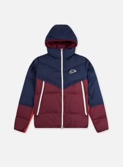 Nike - NSW Down-Fill Windrunner Shield Jacket, Midnight Navy/Dark Beetroot/Black
