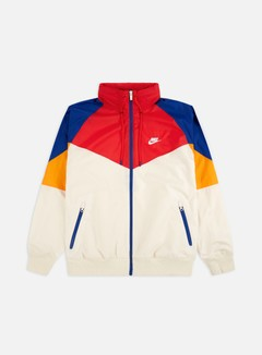 Nike - NSW HD HE Windrunner, Light Cream/White