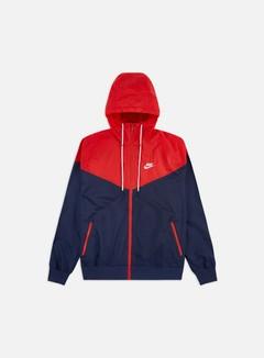 Nike - NSW HD Windrunner, Midnight Navy/University Red/White