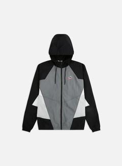 Nike - NSW HE WVN Signature Windrunner, Smoke Grey/Black/Light Smoke Grey