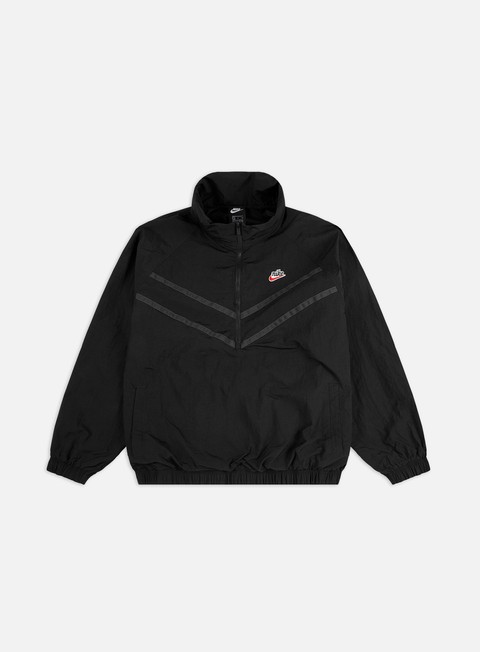 Windbreaker Nike NSW Heritage Half Zip Hooded Windrunner