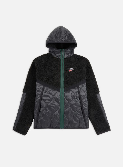 Intermediate Jackets Nike NSW Heritage Insulated Winter Hooded Jacket