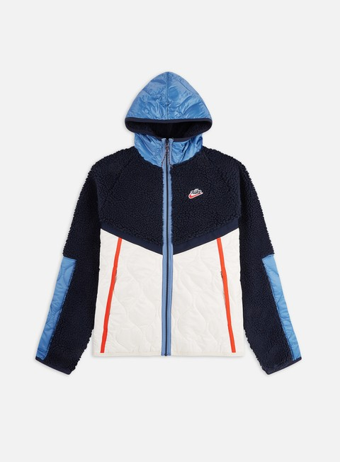 Giacche Intermedie Nike NSW Heritage Insulated Winter Hooded Jacket