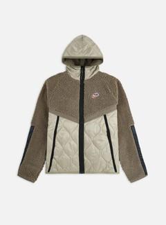 Nike - NSW Heritage Insulated Winter Hooded Jacket, Olive Grey/Mystic Stone/Black