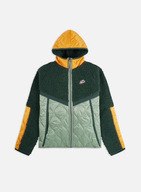 Sherpa Nike NSW Heritage Insulated Winter Hooded Jacket