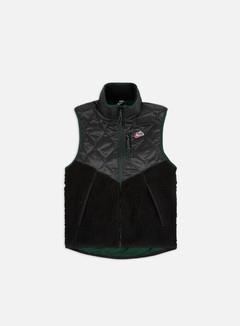 Nike - NSW Heritage Insulated Winter Vest, Black/Black/Pro Green