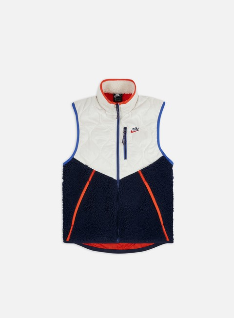 Outlet e Saldi Giacche Intermedie Nike NSW Heritage Insulated Winter Vest