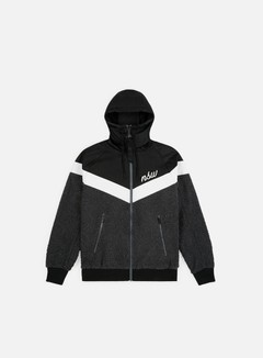 Nike - NSW NSP Sherpa Jacket, Black/Dark Grey/Summit White/Summit White