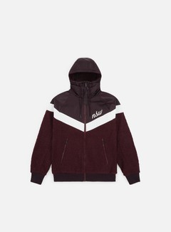 Nike - NSW NSP Sherpa Jacket, Burgundy Ash/Burgundy Crush/Summit White/Summit White