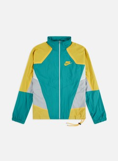 Nike - NSW Re-Issue Hooded Woven Jacket, Spirit Teal/University Gold