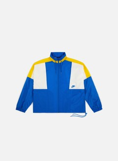 Nike - NSW Re-Issue Woven Jacket, Signal Blue/Amarillo/Sail/Signal Blue