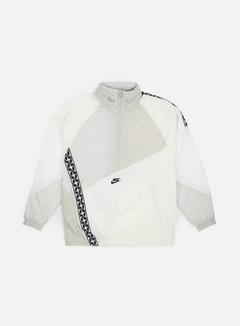 Nike - NSW Taped Woven Anorak Jacket, Sail/Black