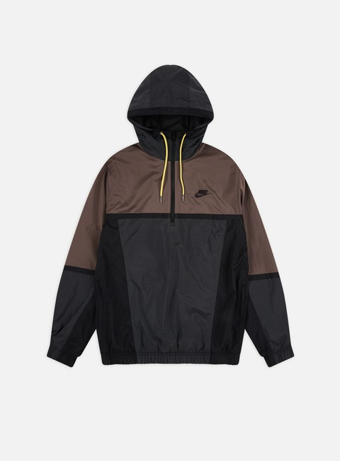 Nike NSW Woven Color Block Half Zip HD Jacket