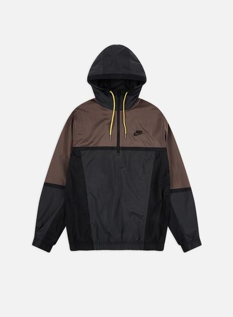Nike NSW Woven Color Block Half Zip HD Jacket