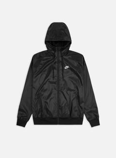 Nike - NSW Woven LND Hooded Windrunner, Black/White